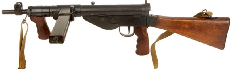 Пистолет-пулемет STEN Mk-V