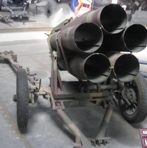 Пусковая установка 210-mm Nebelwerfer 42