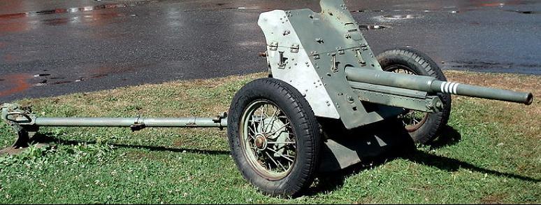 Противотанковая 45-мм пушка образца 1937 г. (53-К)