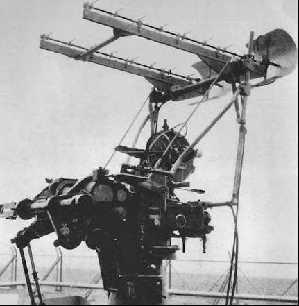 Антенна корабельной РЛС Type 282