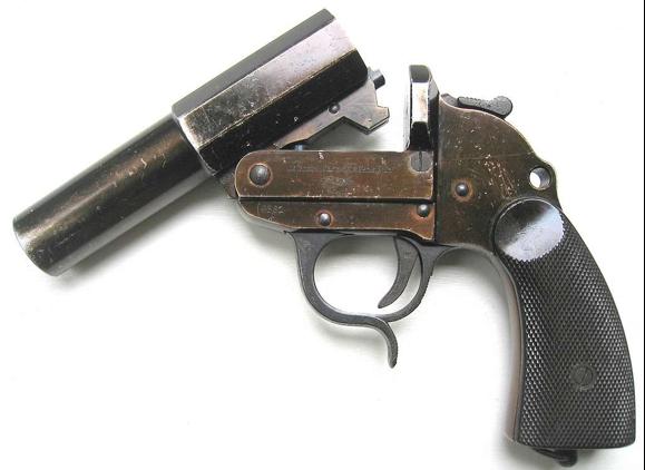 Сигнальный пистолет Walther Leuchtpistole модель 34