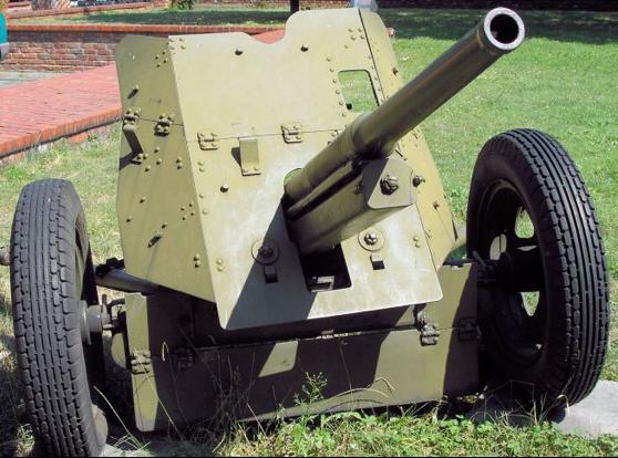 Противотанковая 45-мм пушка образца 1942 г. (М-42)
