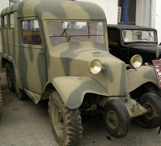Артиллерийский тягач Lorraine-72