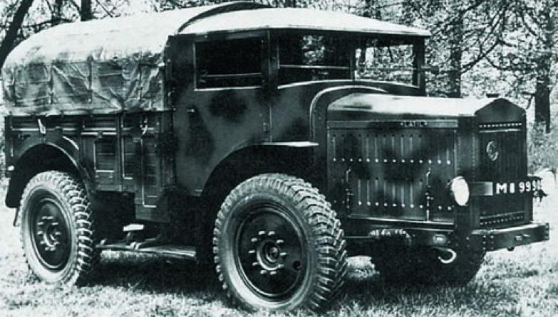 Артиллерийский тягач Latil TAR H-2