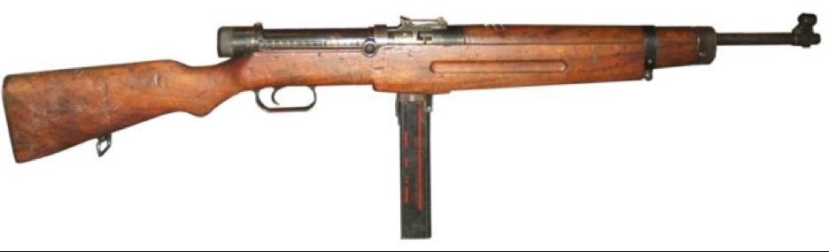 Пистолет-пулемет Kiraly 39-M