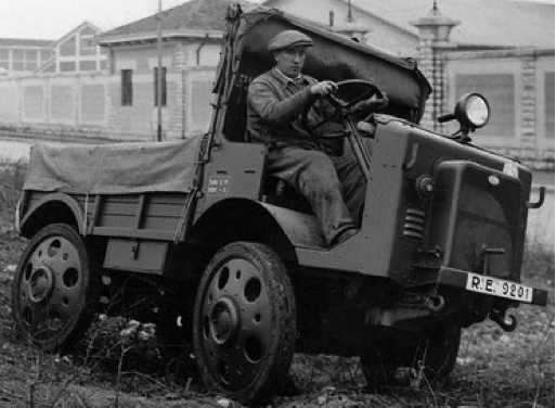 Тягач ОМ-32