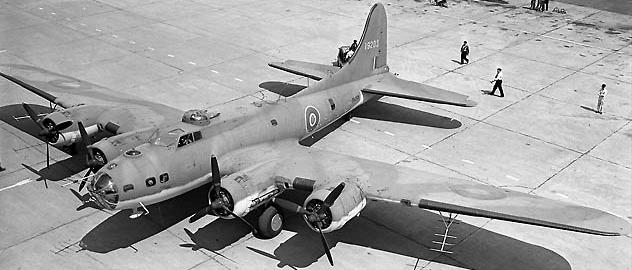 Авиационная РЛС SCR-521 на В-17
