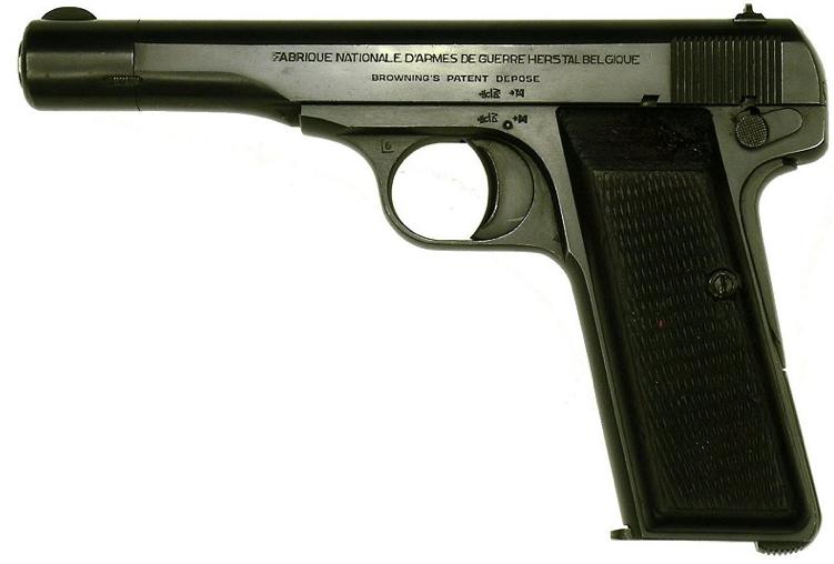 Пистолет FN Browning 1910