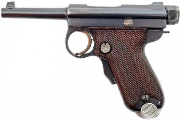 Пистолет Nambu Type B (Baby)