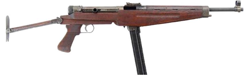 Пистолет-пулемет Kiraly 43-M