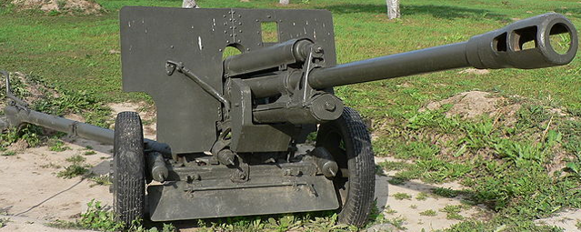 Противотанковая 76-мм пушка ЗИС-3