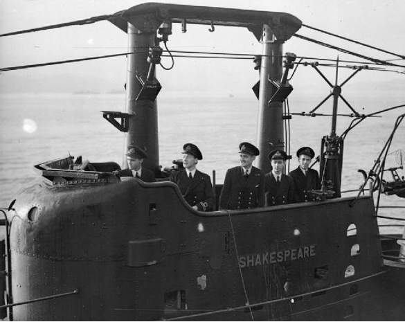 Антенна Type РЛС 291-W на мостике подводной лодки HMS Shakespeare (P-221)