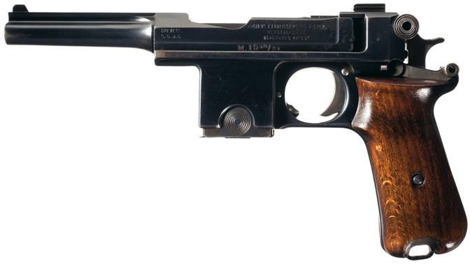 Пистолет Bergman - Bayard М-1910