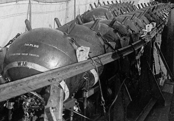 Контактные мины межвоенного периода