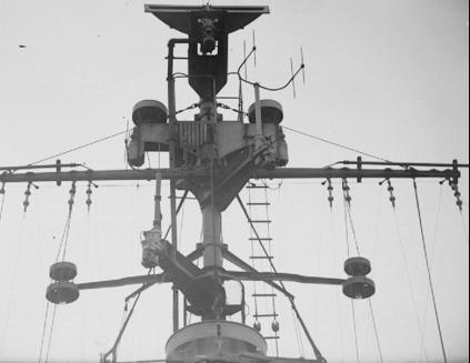 Антенна корабельной РЛС Type-293