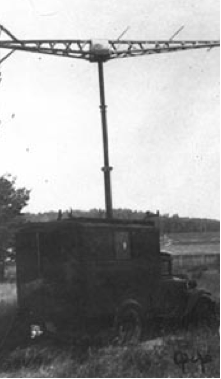 РЛС дальнего обнаружения РУС-2 (Редут) приемная установка