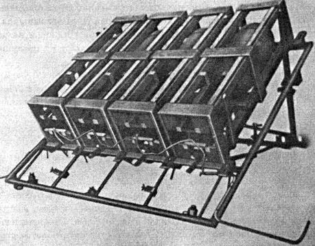 Метательные рамы реактивных снарядов sWG-41