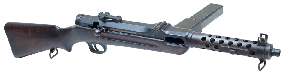 Пистолет-пулемет Bergmann MP-35