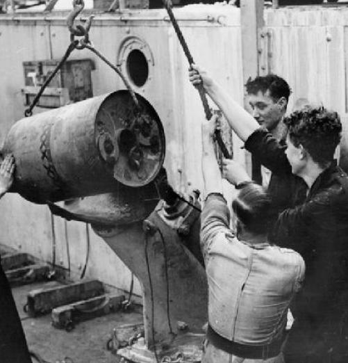 Глубинная бомба Mk-VII DC