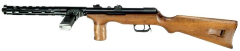 Пистолет-пулемет Erma EMP-35