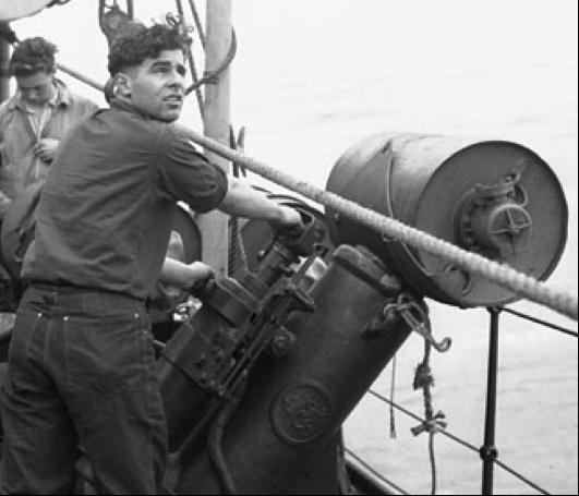 Метатель глубинных бомб Thornycroft