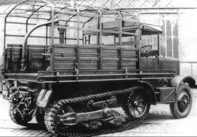 Артиллерийский тягач Somua MCL-5