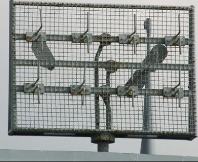 Антенна РЛС FuMO-30 на подлодке U-995