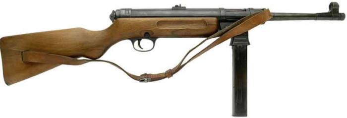 Пистолет-пулемет Schmeisser MP-41