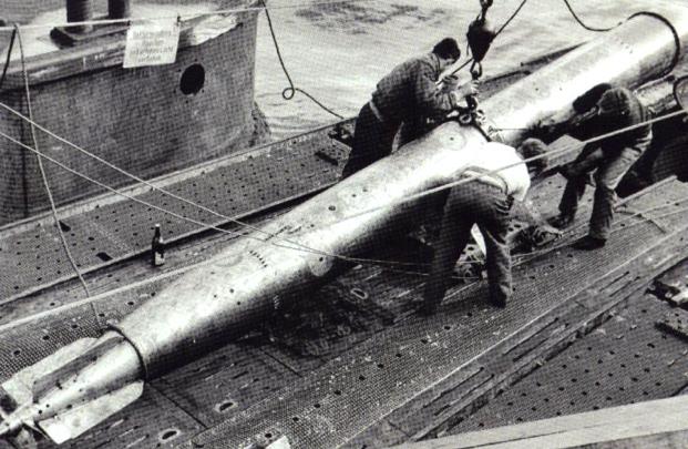 Электрическая  торпеда Zaunkönig T-V (G-7es)