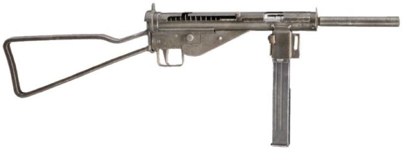 Пистолет-пулемет MP-3008 с прикладом скелетной конструкции