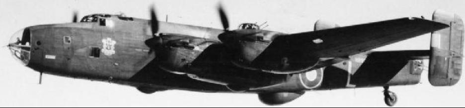 РЛС H-2S на бомбардировщике Halifax.