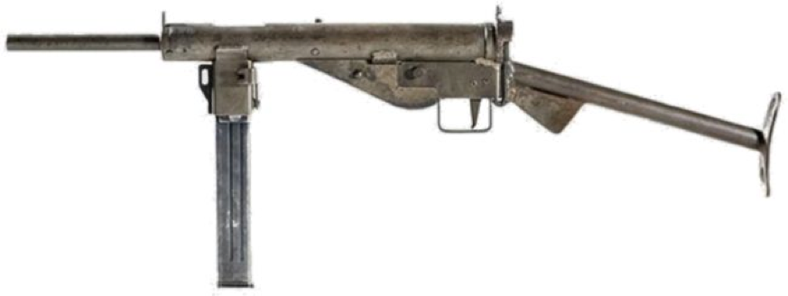 Пистолет-пулемет MP-3008 с  трубчатым прикладом