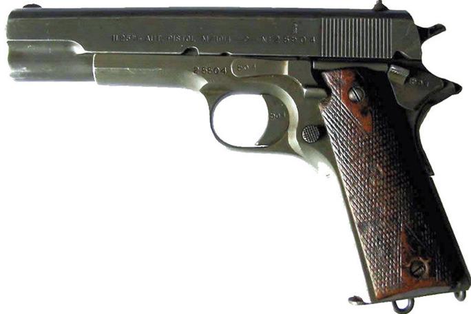 Пистолет Kongsberg М-1914