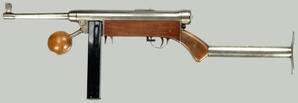 Пистолет-пулемет Lettet-Forsøgs