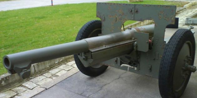Противотанковый вариант Canon de 75 modèle 1897/33