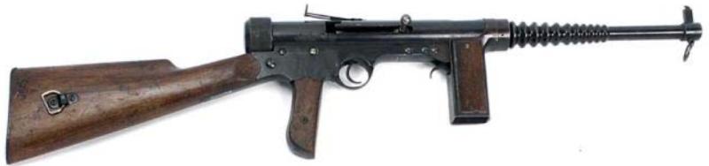 Пистолет-пулемет Labora Fontbernat без магазина