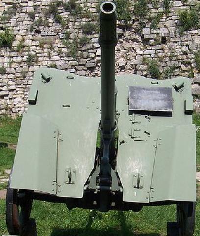 Противотанковая 37–мм пушка образца 1937 г.