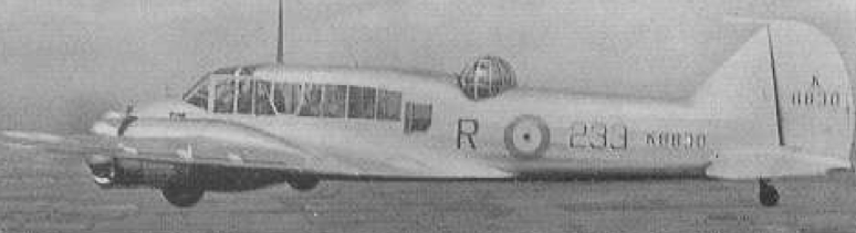 РЛС ASV Mk-I на патрульном самолете