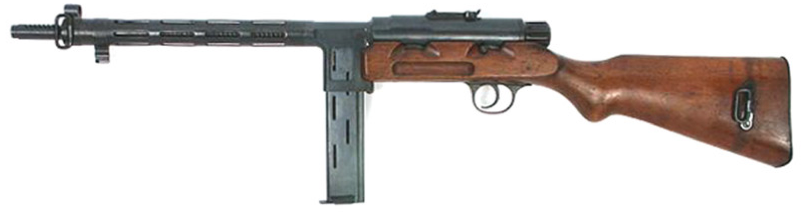 Пистолет-пулемет Star RU-35