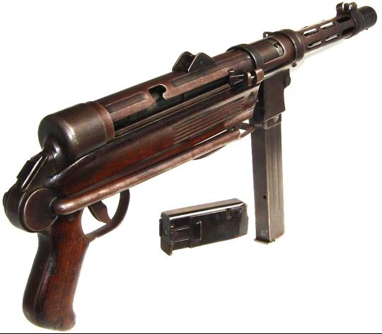 Пистолет-пулемет Star Z-45 с магазином на 10 и 30 патронов