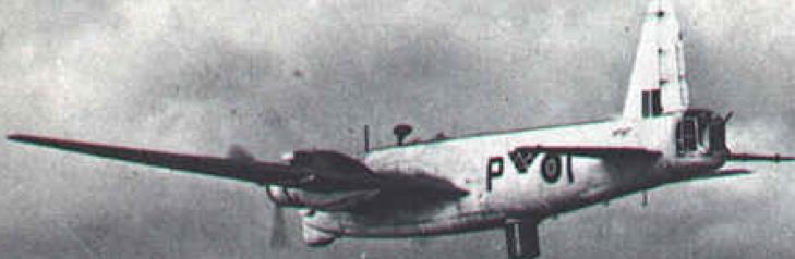 РЛС ASV Mk-III на самолете Wellington