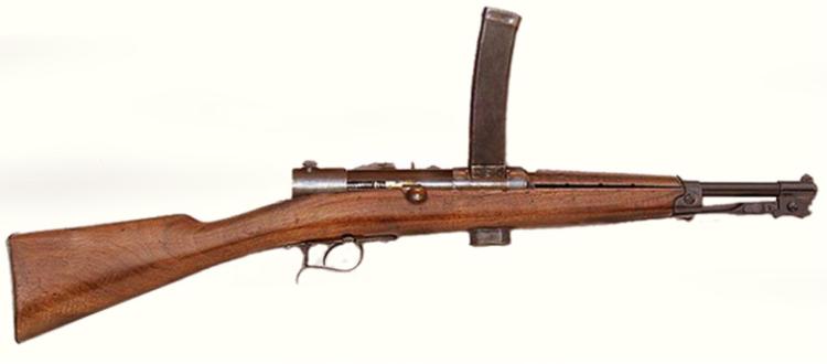 Пистолет-пулемет Beretta M-1918