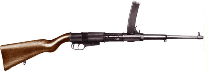 Пистолет-пулемет OVP Model 1918