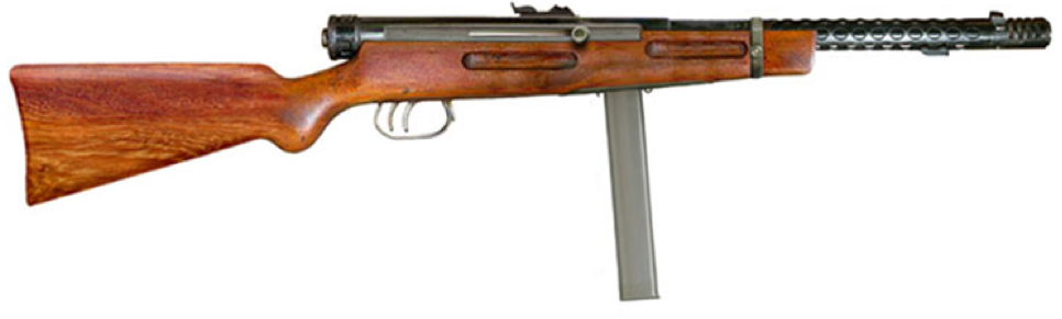 Пистолет-пулемет Beretta M-1938A МАВ