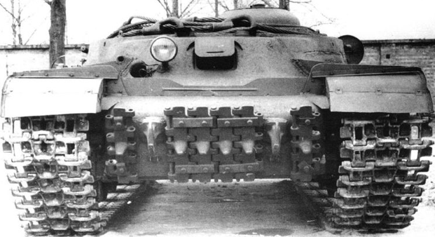 Танковый тягач ИС-2Т