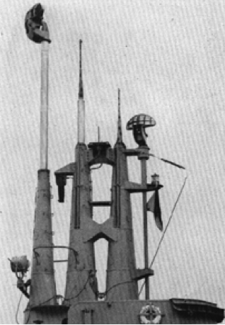 Антенна корабельной РЛС SV
