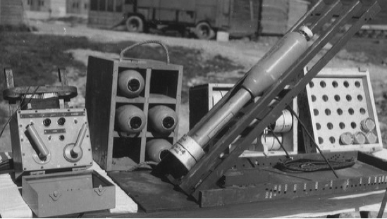 Ракета 4.5-Inch BBR Mobile Rocket Rack MK-9 Motor