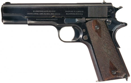 Пистолет Colt M-1911