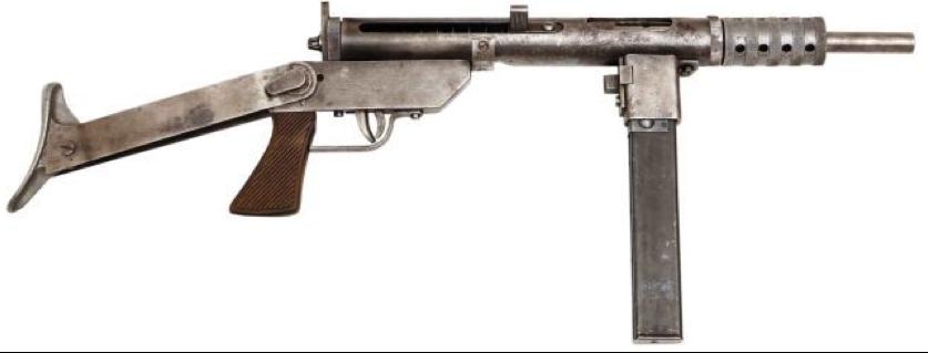 Пистолет-пулемет Blyskawica