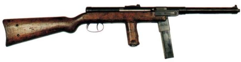 Пистолет-пулемет Mors wz.39